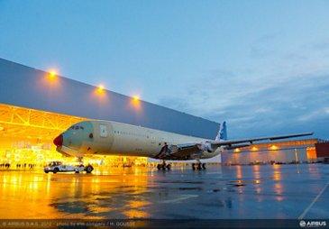 A350 XWB MSN1 journey to station 30 HG