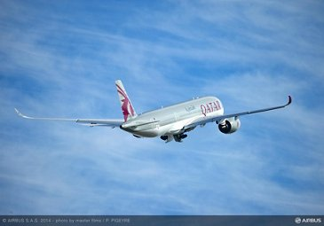 Qatar Airways' no. 1 A350 XWB first flight_1