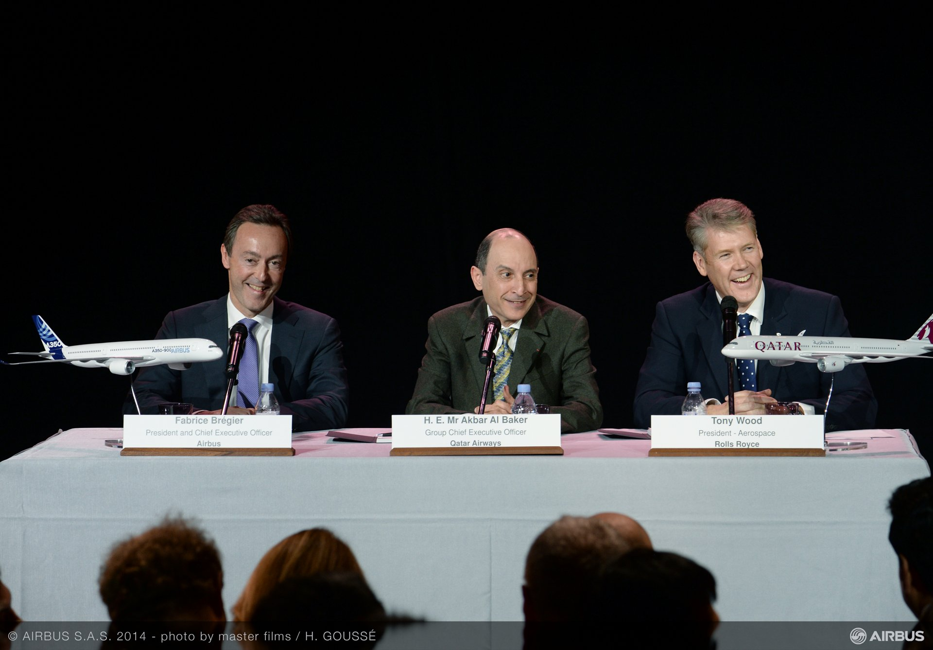 A350 XWB Qatar Airways first delivery – Press conference 1