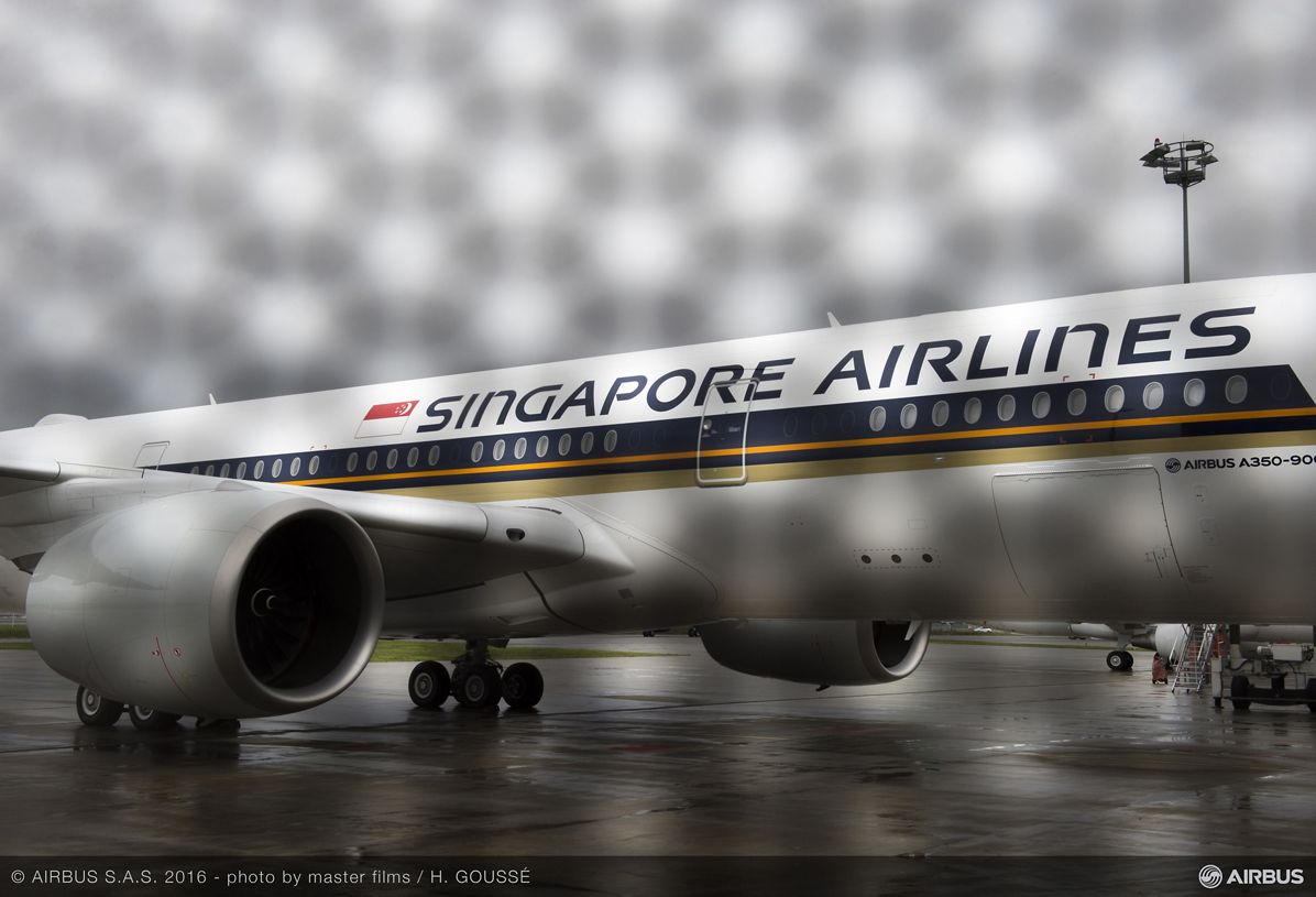 Singapore Airlines A350 XWB delivery_Ambiance 1