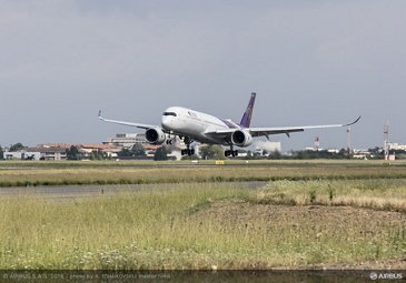 THAI A350 XWB first flight_1