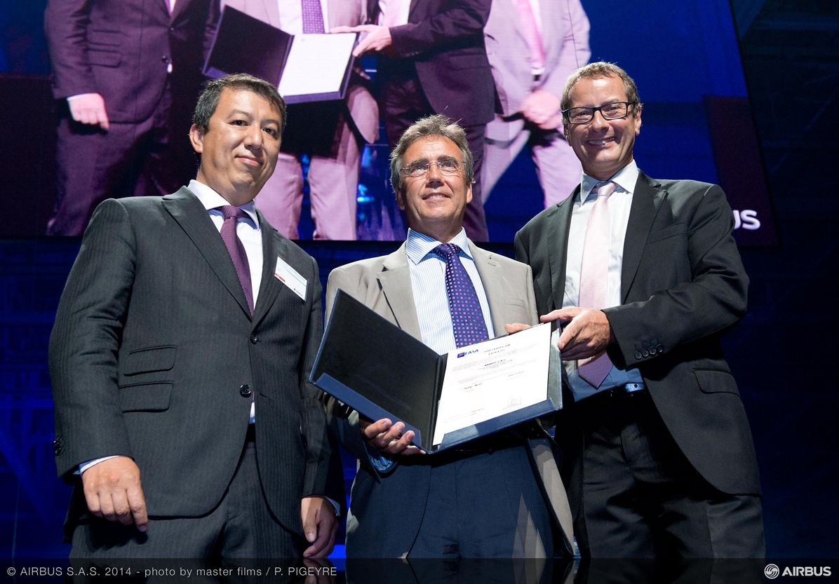 A350-900 receives EASA Type Certification in Toulouse 2