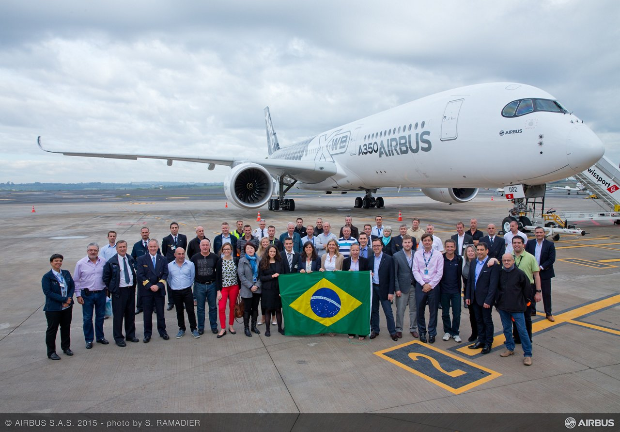 A350 XWB Americas tour: Campinas, Brazil