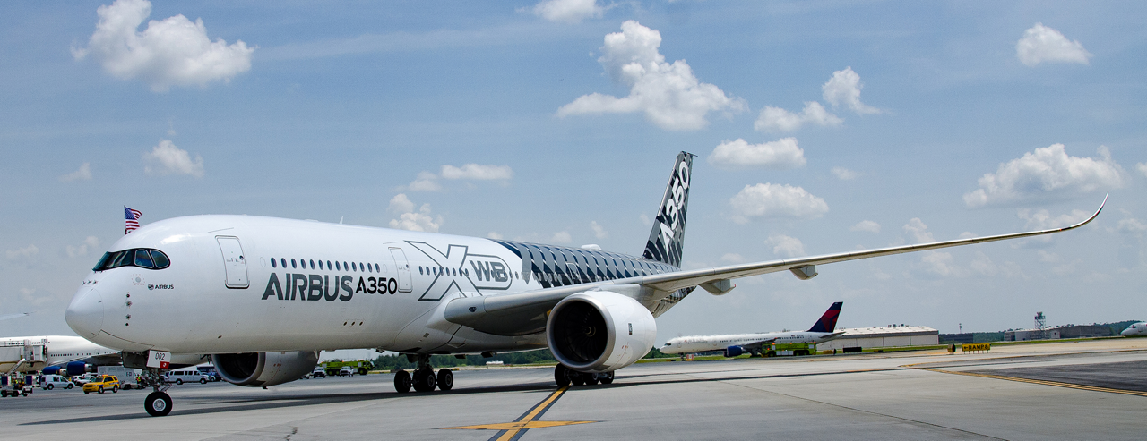 The A350 XWB – the latest member of Airbus' market-leading widebody product line – kicked off its United States demo tour with a visit to Atlanta, Georgia
