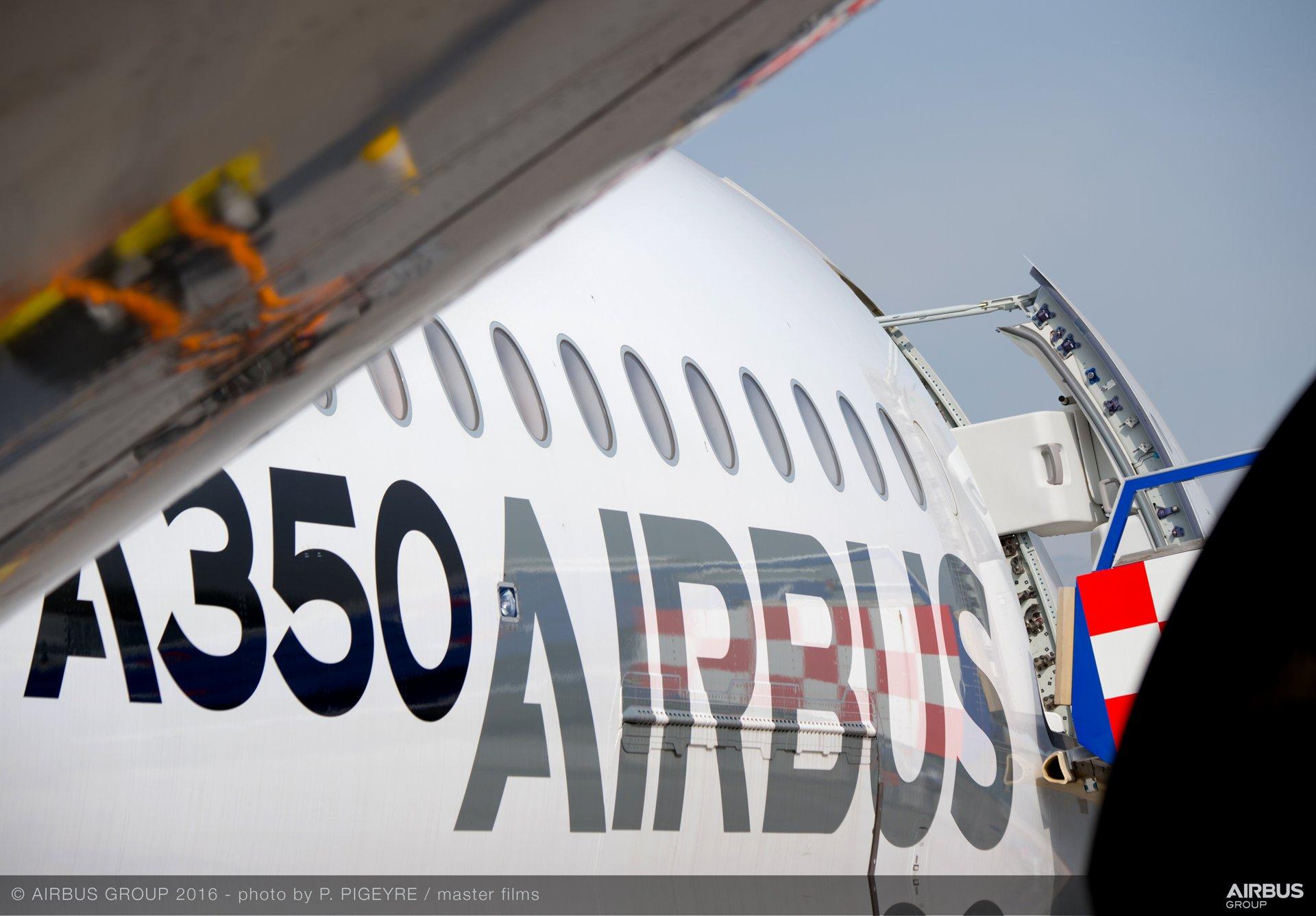 A350 XWB at FIDAE 2016_display 2