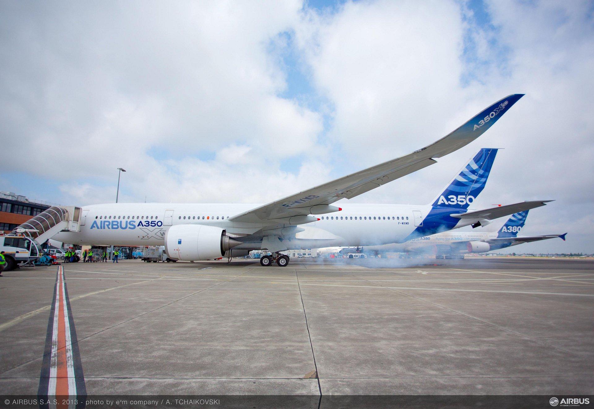 A350 XWB first engine run