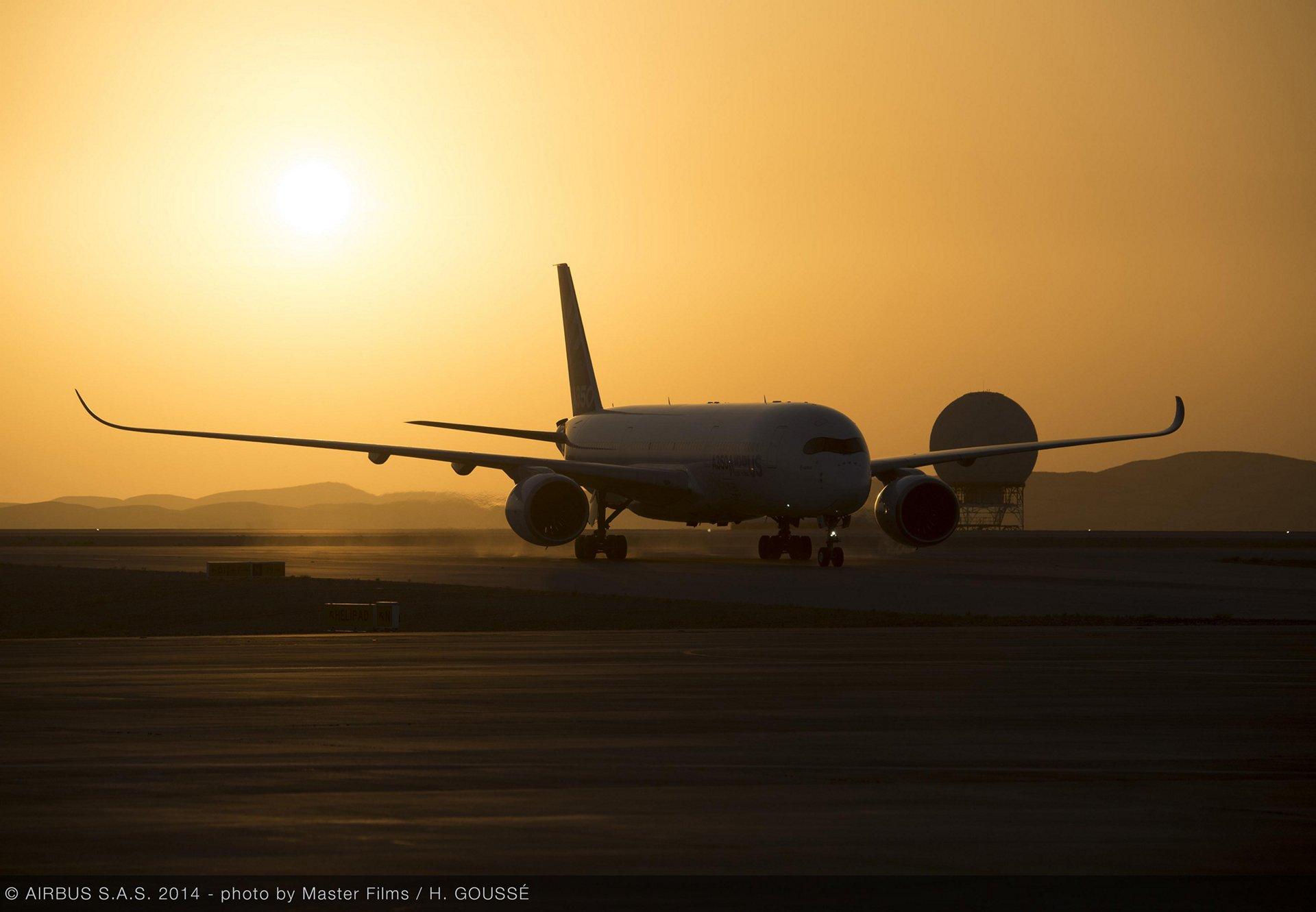 A350 XWB hot weather testing – Al Ain 3