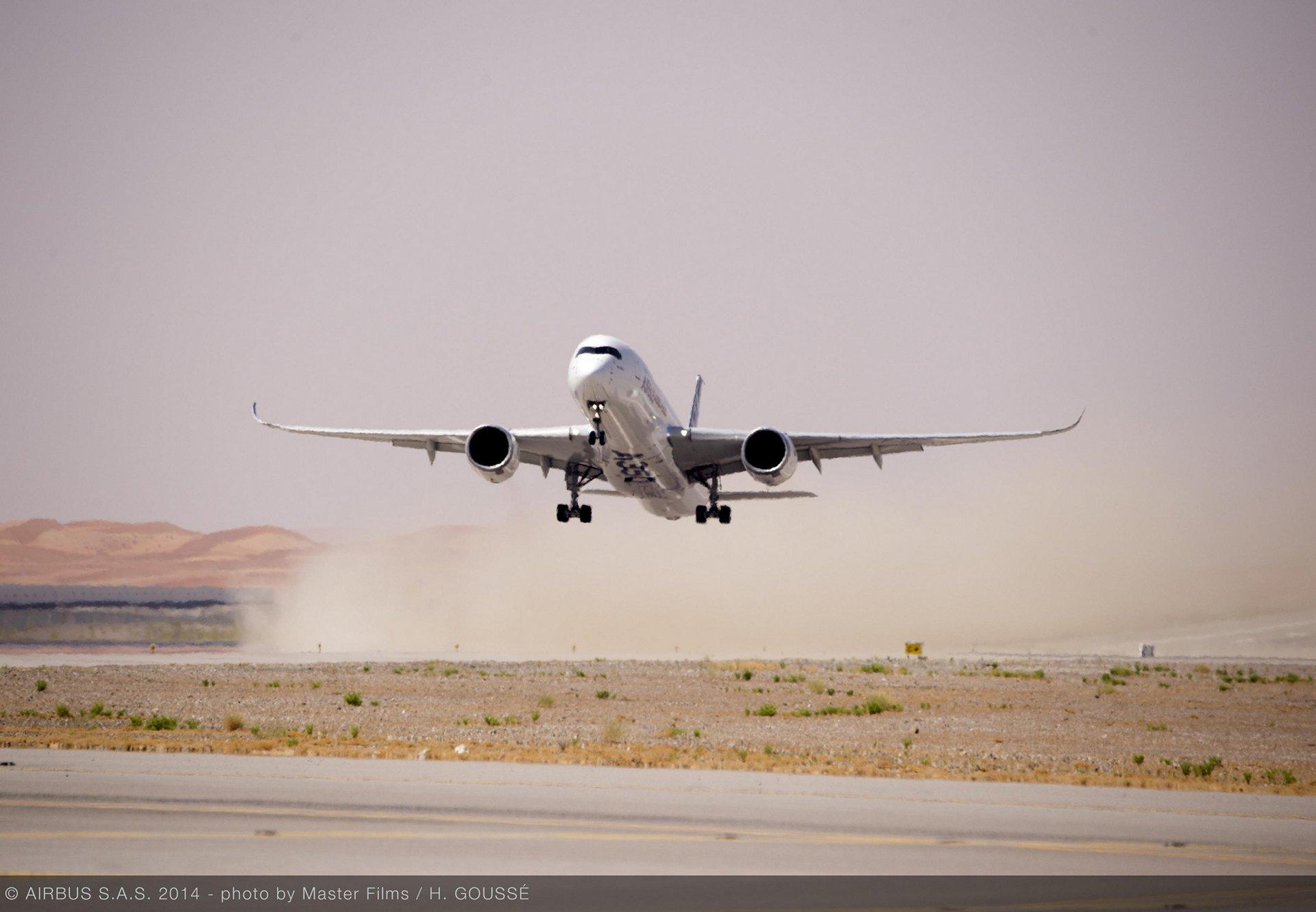 A350 XWB hot weather testing – Al Ain 4