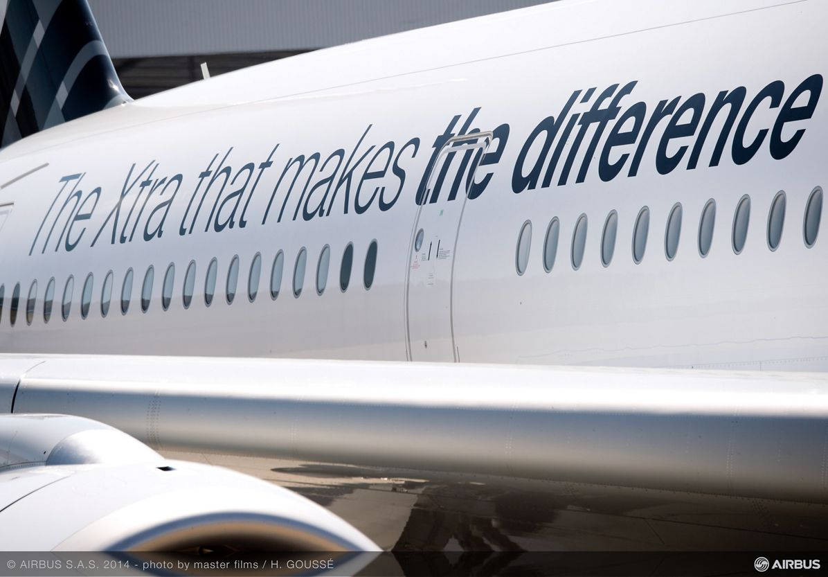 A350 XWB MSN005 livery