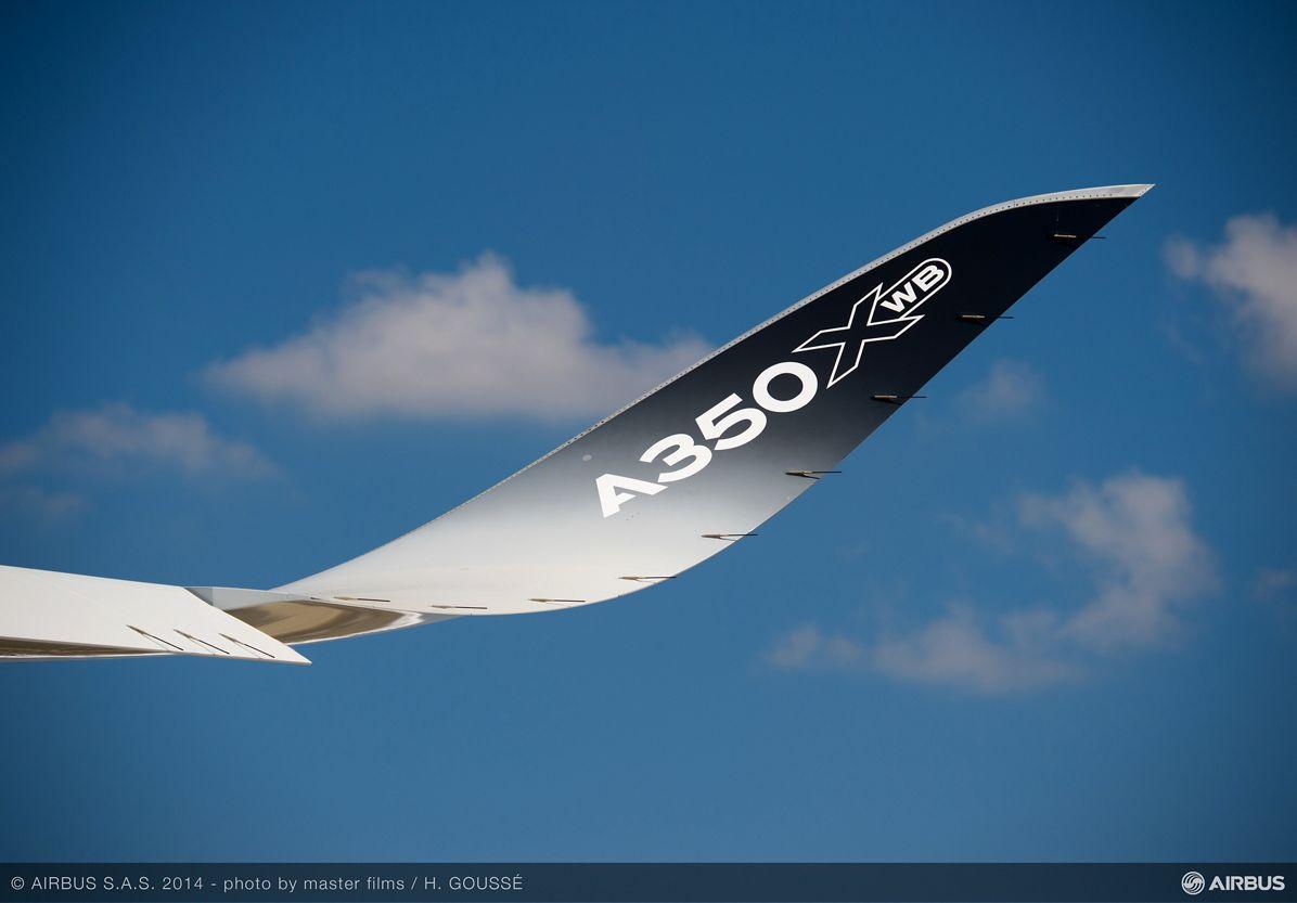 A350 XWB MSN005 wing