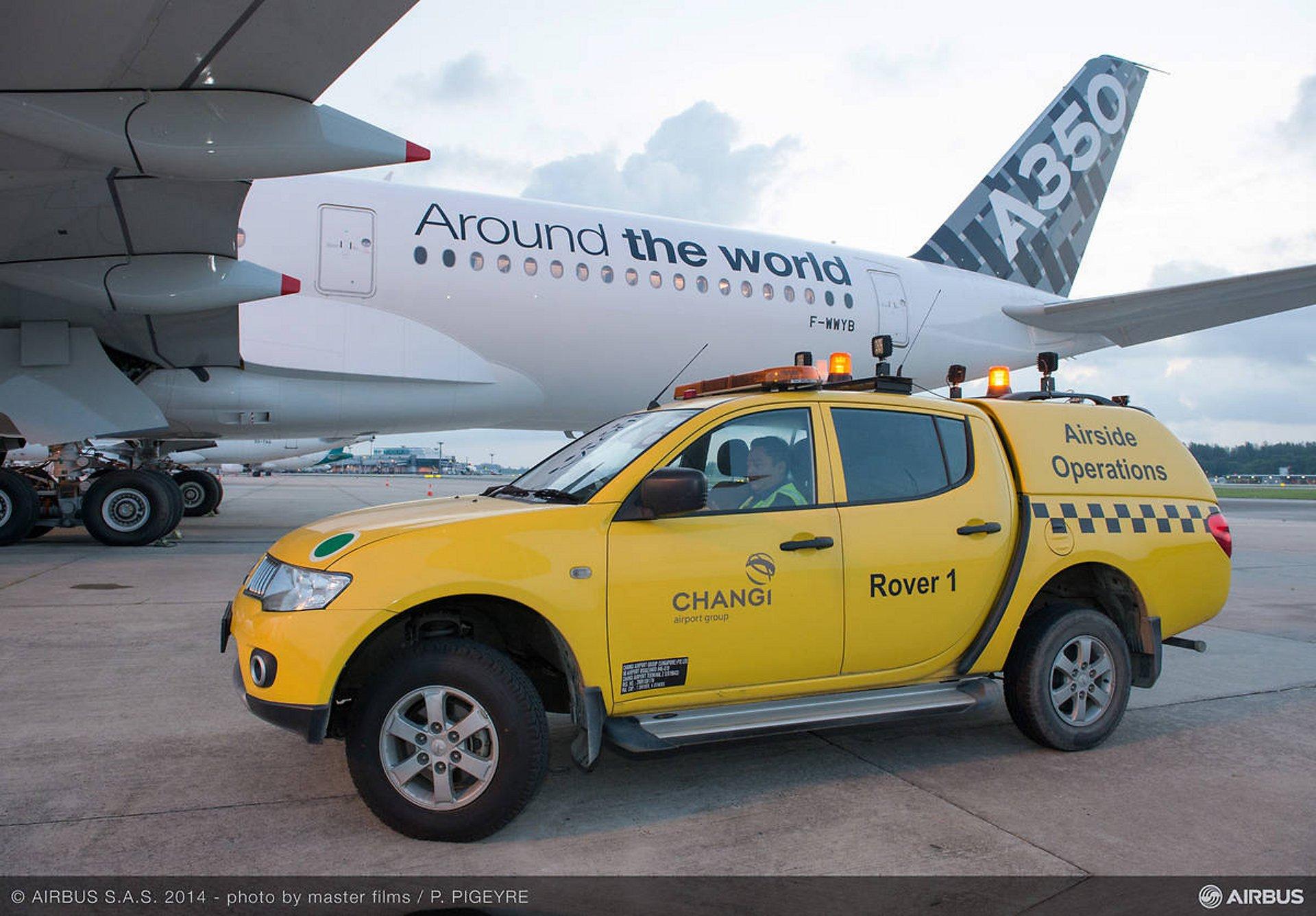 A350 XWB route proving: Singapore_3