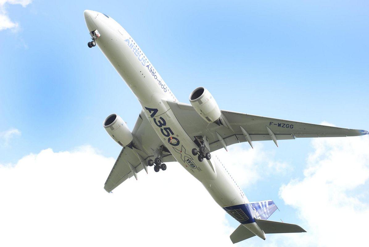 A350 XWB taking off