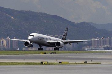 A350 XWB route proving_Hong Kong 1