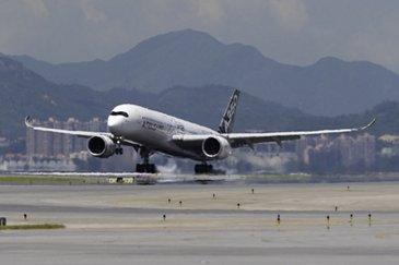 A350 XWB route proving_Hong Kong 2