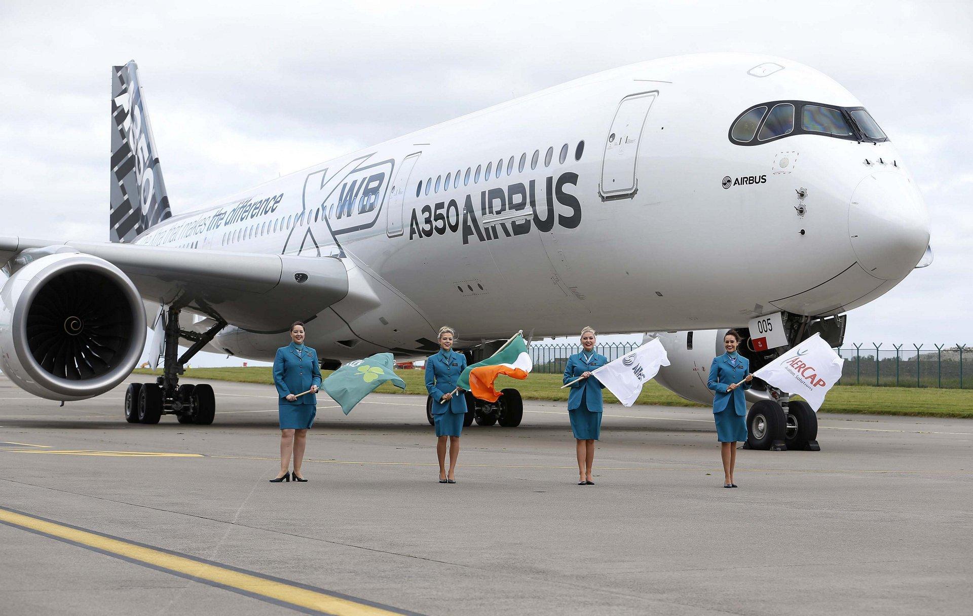 A350 XWB in Dublin_2