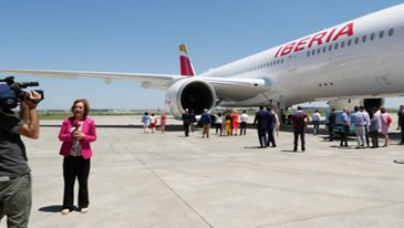 Highlights: First A350-900 delivery to Iberia