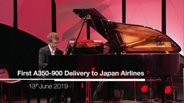 First A350-900 delivery to Japan Airlines: Highlights