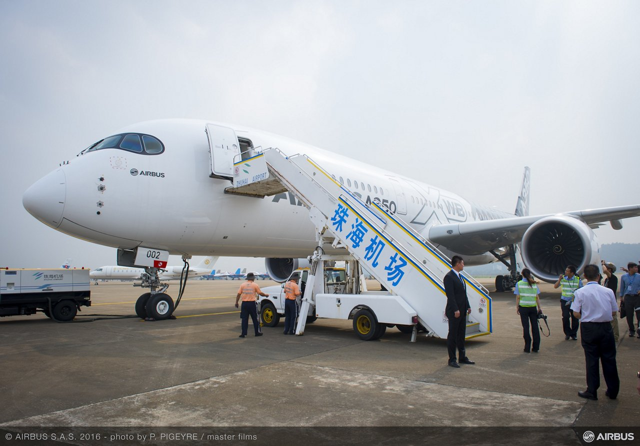 Airbus A350 XWB China tour_1