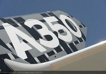 Dubai 2015 - Day 1 - A350 tail