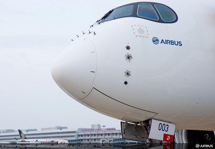 A350 XWB at Changi airport – 02