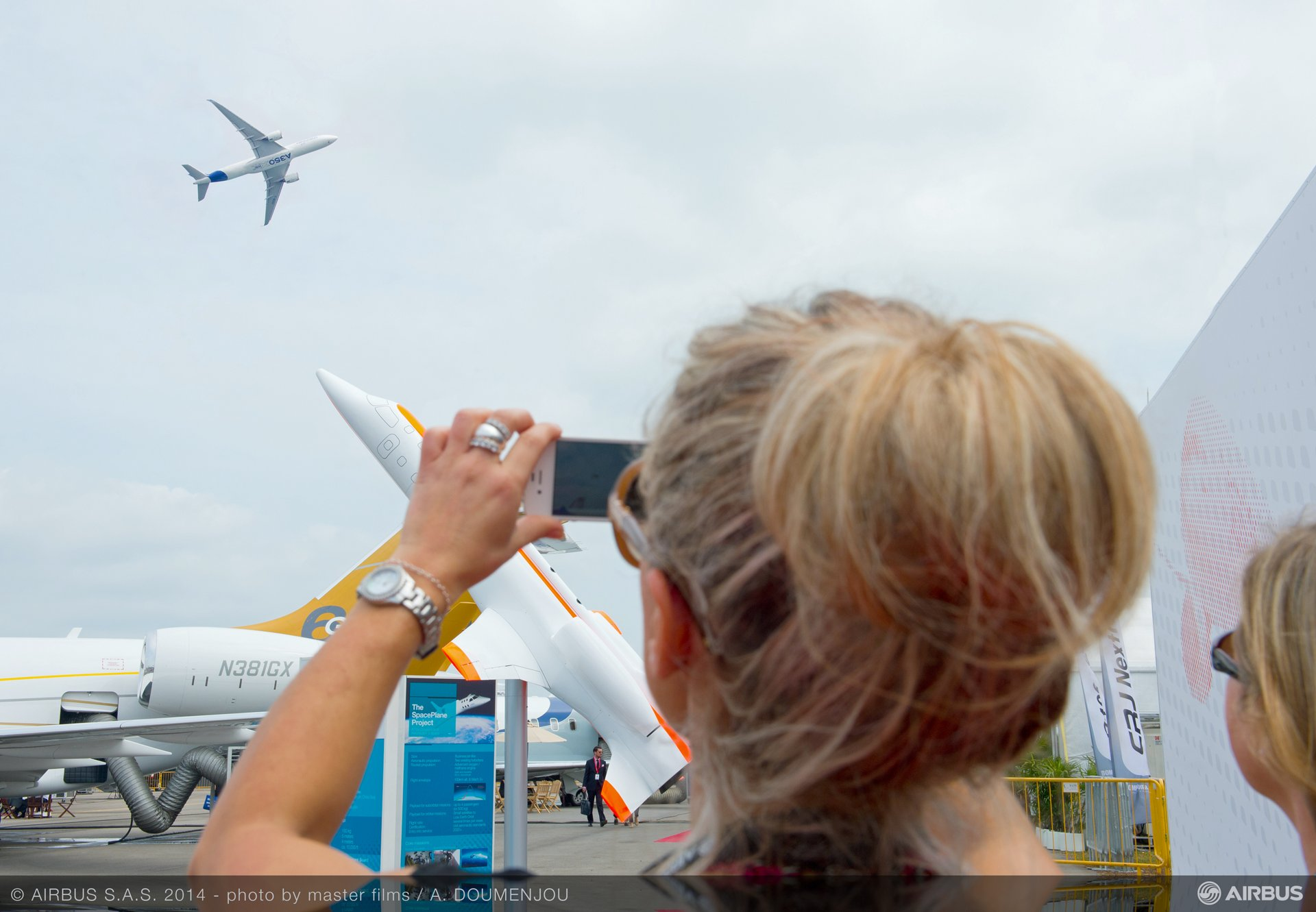 Singapore Airshow – A350 XWB in flight 5 (Day 2)