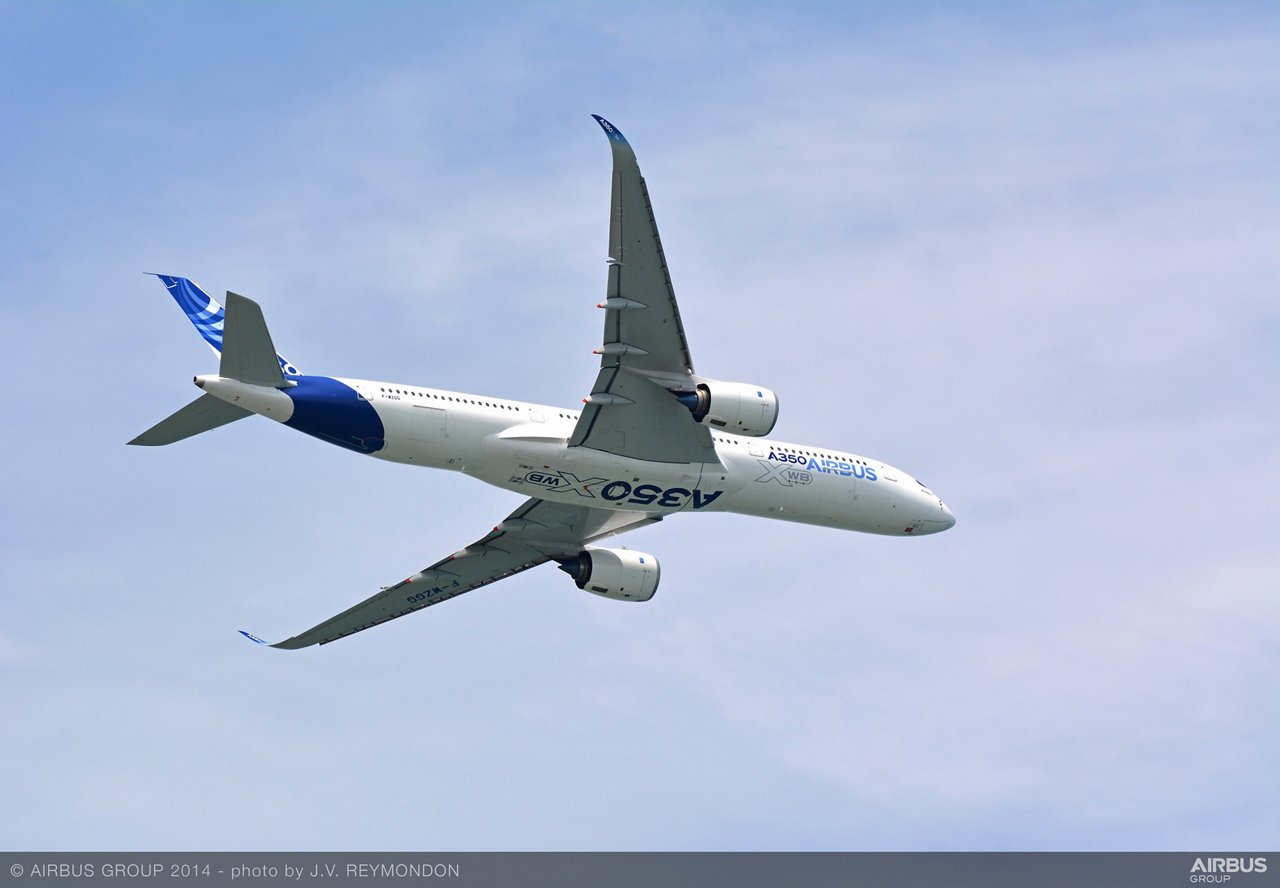 Singapore Airshow – A350 XWB departure 2