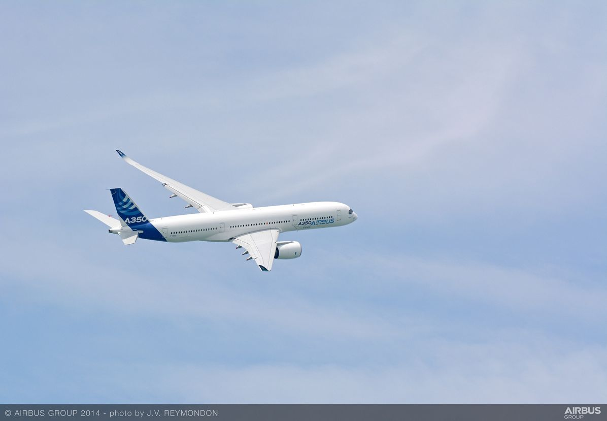 Singapore Airshow – A350 XWB departure 1
