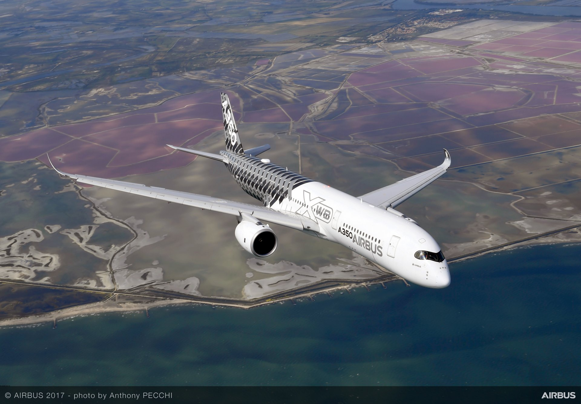 A350 XWB In flight