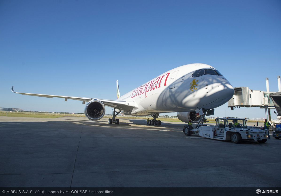 FIRST A350 XWB DELIVERY TO ETHIOPIAN AIRLINES CEREMONY 3