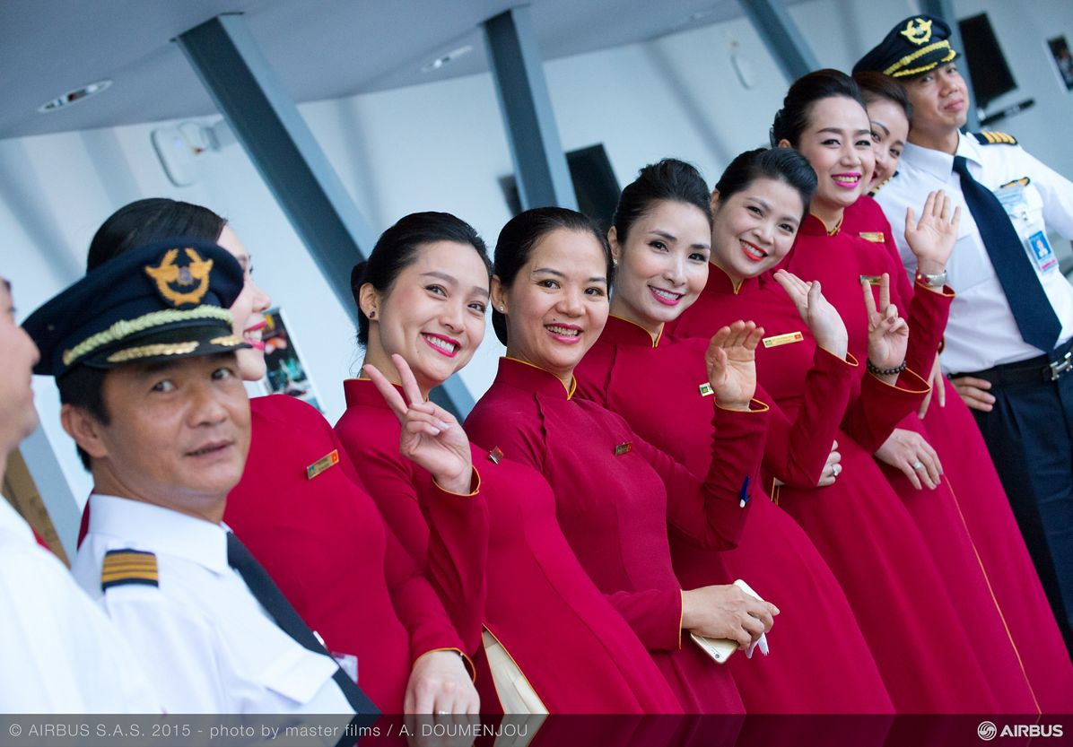 Vietnam Airlines_First A350 XWB delivery 10