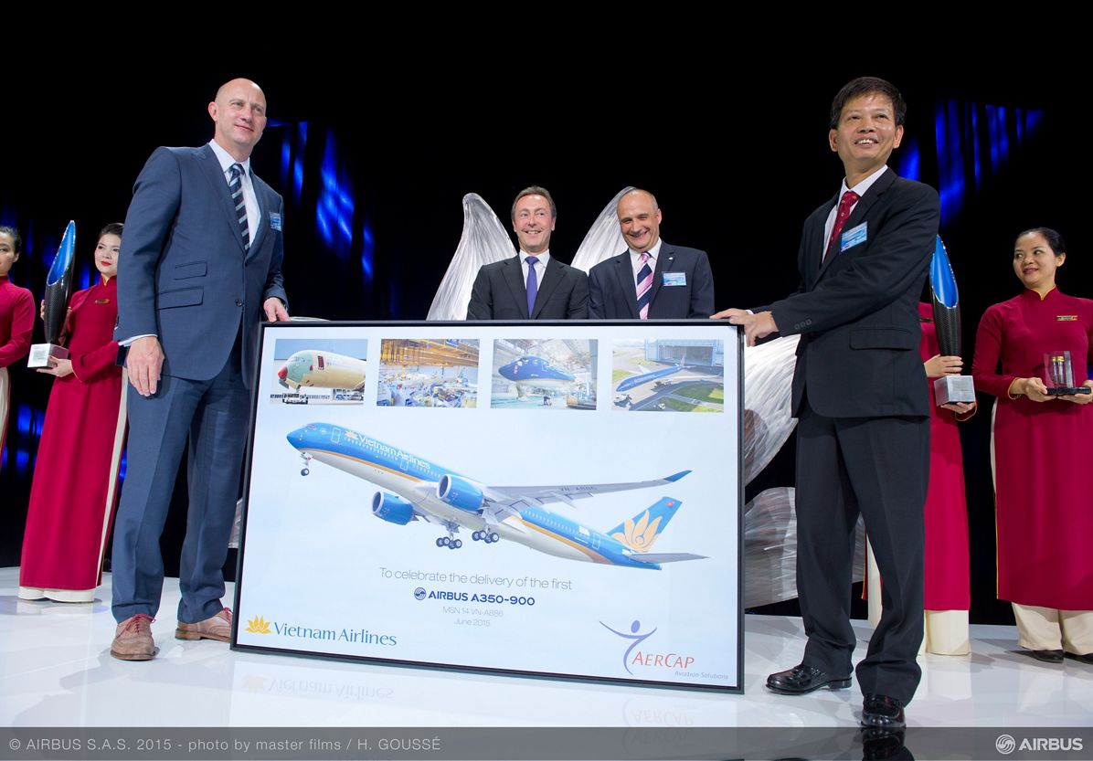 Vietnam Airlines_First A350 XWB delivery 3