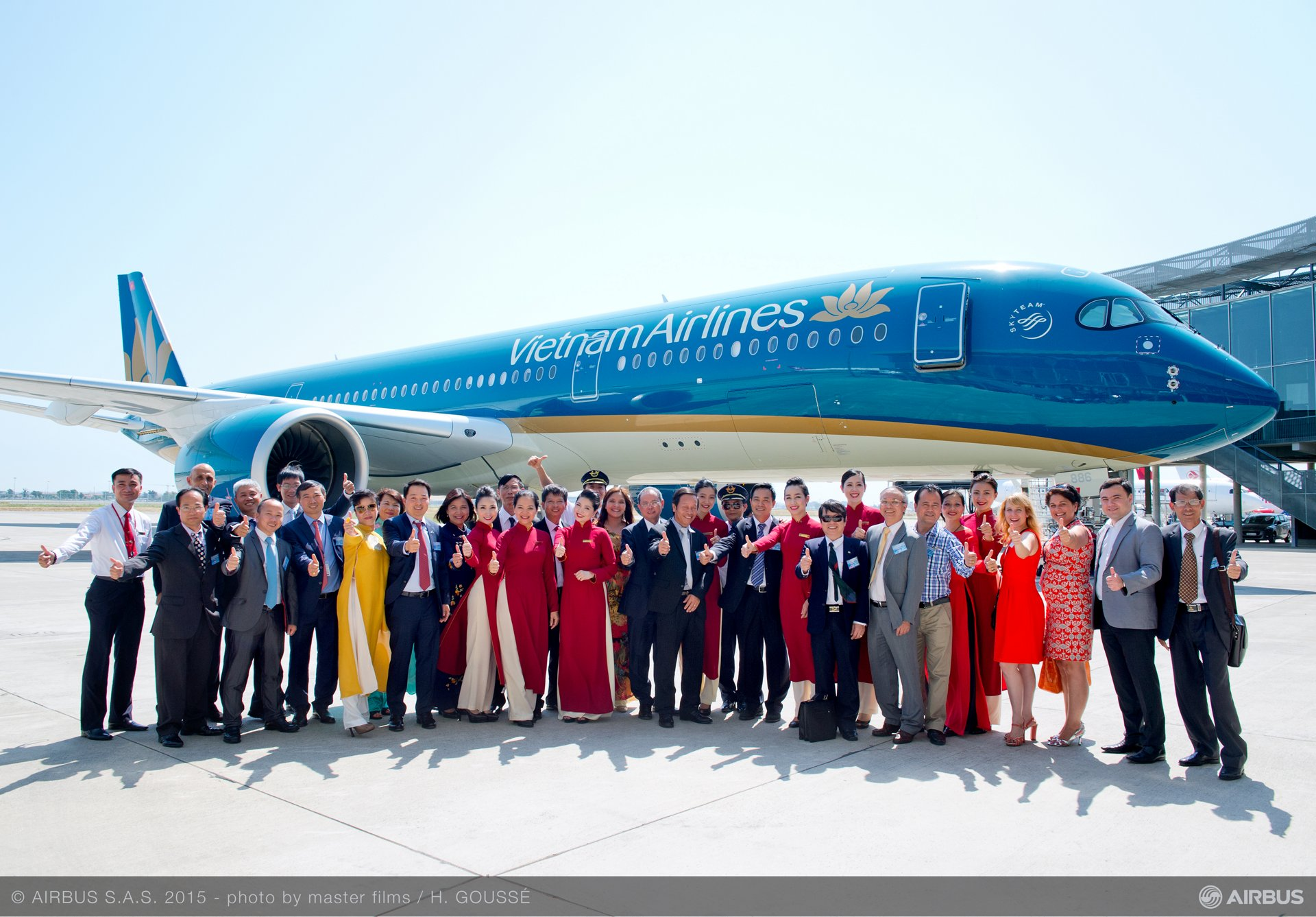 Vietnam Airlines_First A350 XWB delivery 8