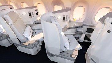 A350 XWB_Finnair Business Class Cabin 3 seat