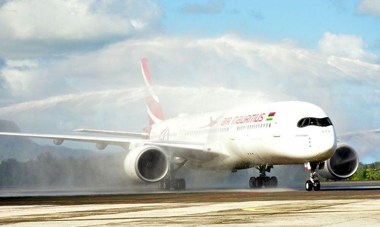 First A350XWB Air Mauritius 1