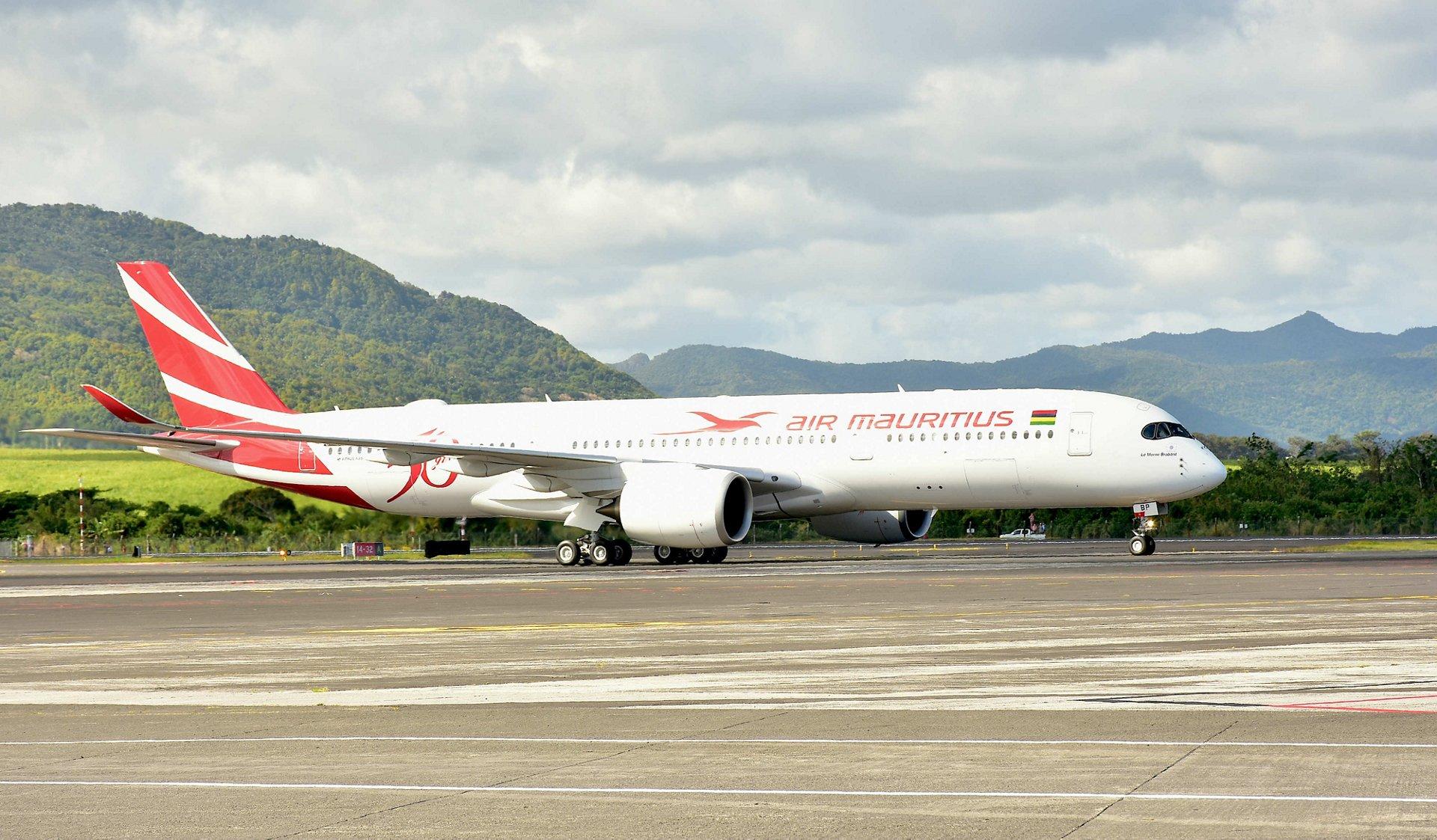 First A350 XWB Air Mauritius 2