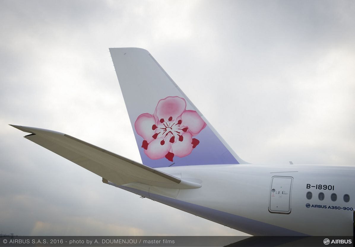 China Airlines' first A350 XWB_delivery 5