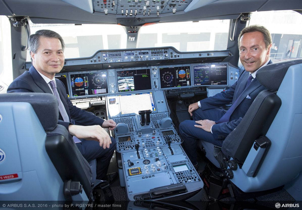 First A350 XWB delivery to THAI_3