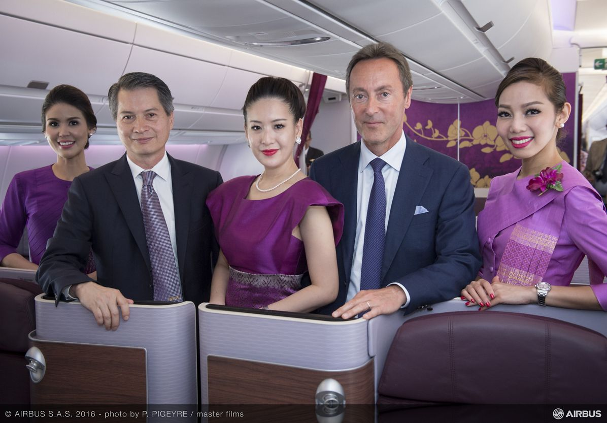 First A350 XWB delivery to THAI_4