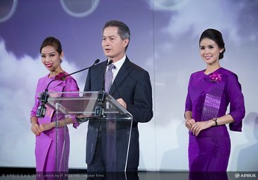 First A350 XWB delivery to THAI_2