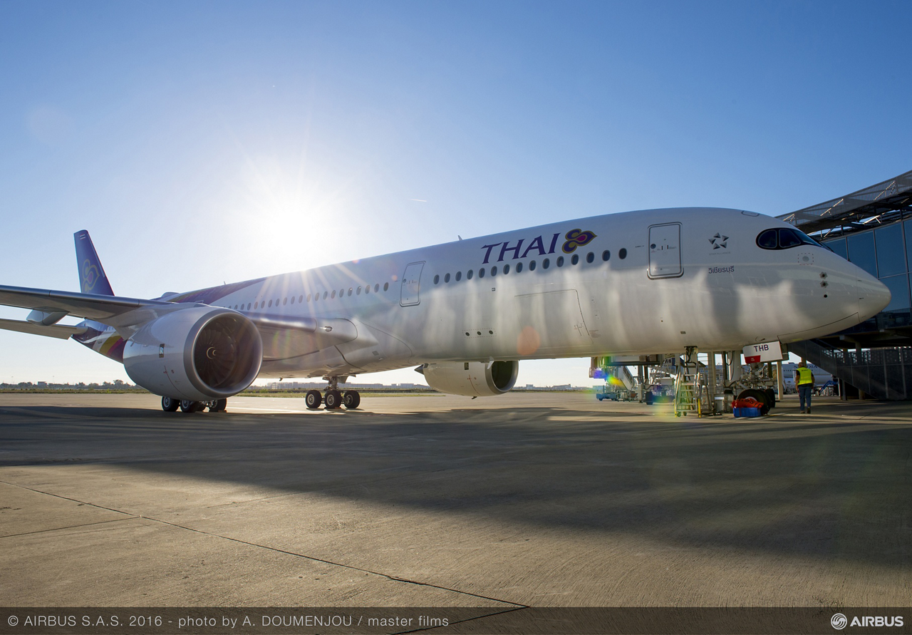 In total, THAI plans to acquire 12 Airbus A350 XWB jetliners, four directly from the aircraft manufacturer and another eight under lease agreements