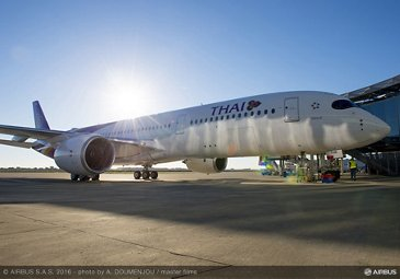 First A350 XWB delivery to THAI_7