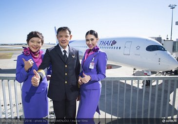 First A350 XWB delivery to THAI_5