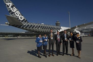 A350 XWB at Munich International Airport 3