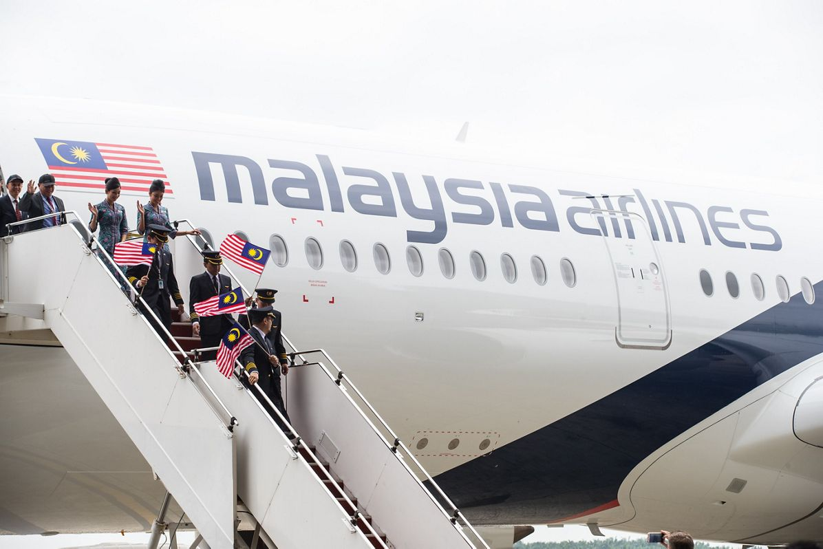 First A350 XWB delivery to Malaysia Airlines 2