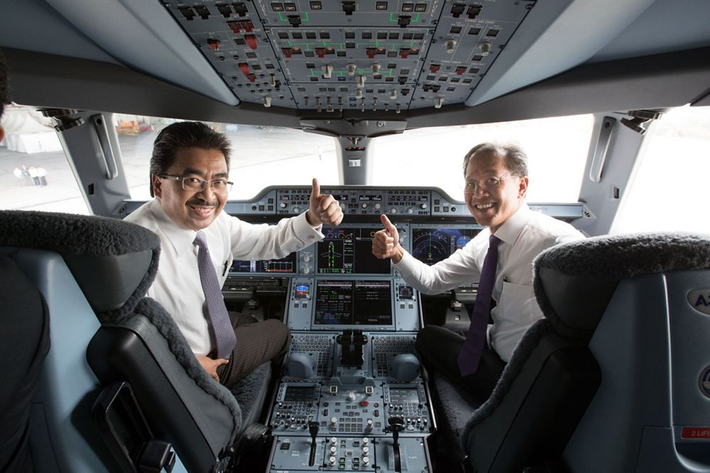 First A350 XWB delivery to Malaysia Airlines 1
