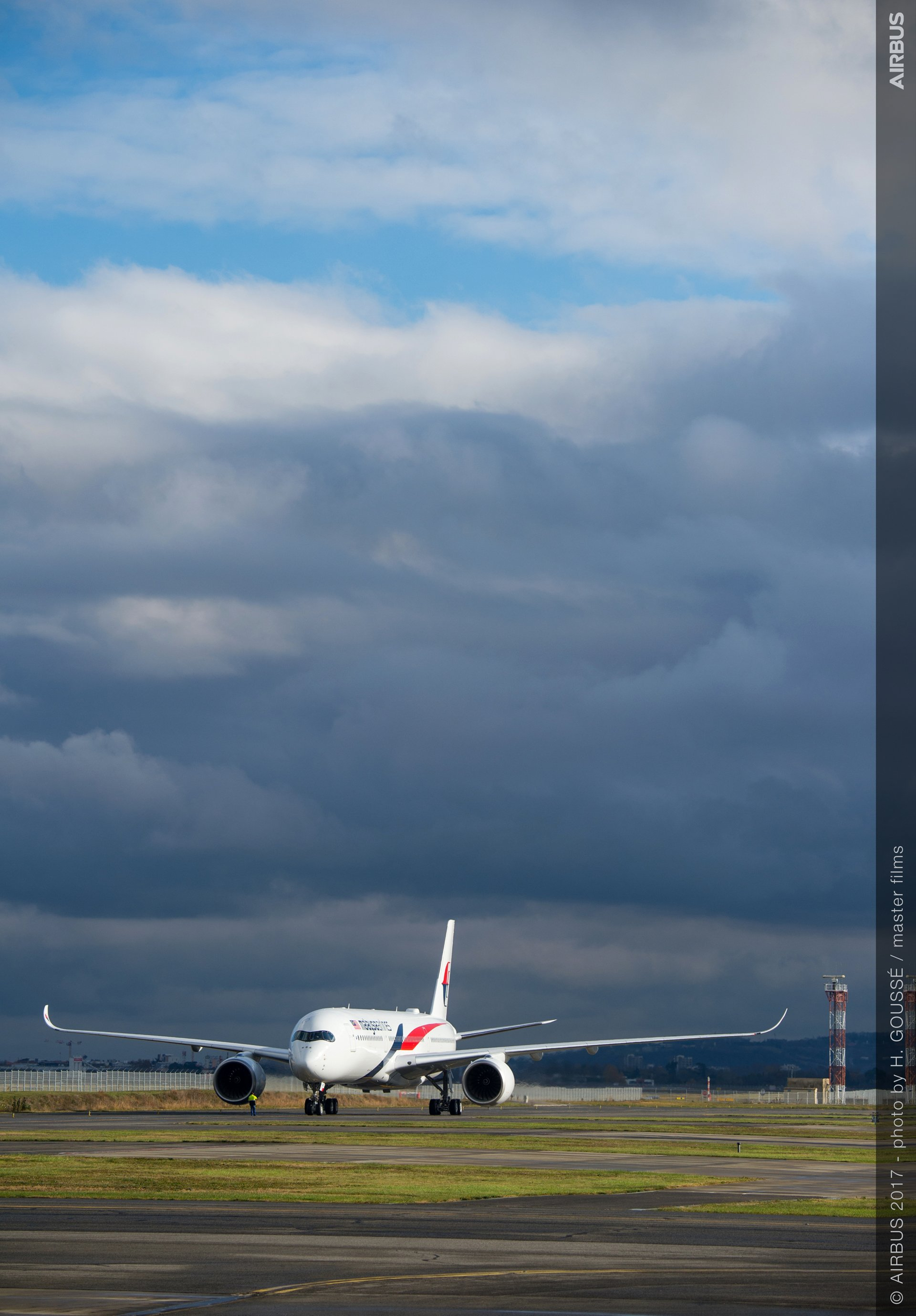 First A350 XWB delivery to Malaysia Airlines 6