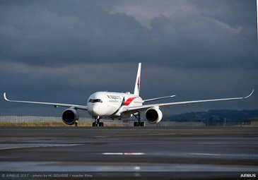 First A350 XWB delivery to Malaysia Airlines 7