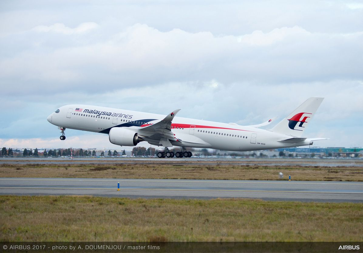 First A350 XWB delivery to Malaysia Airlines 4
