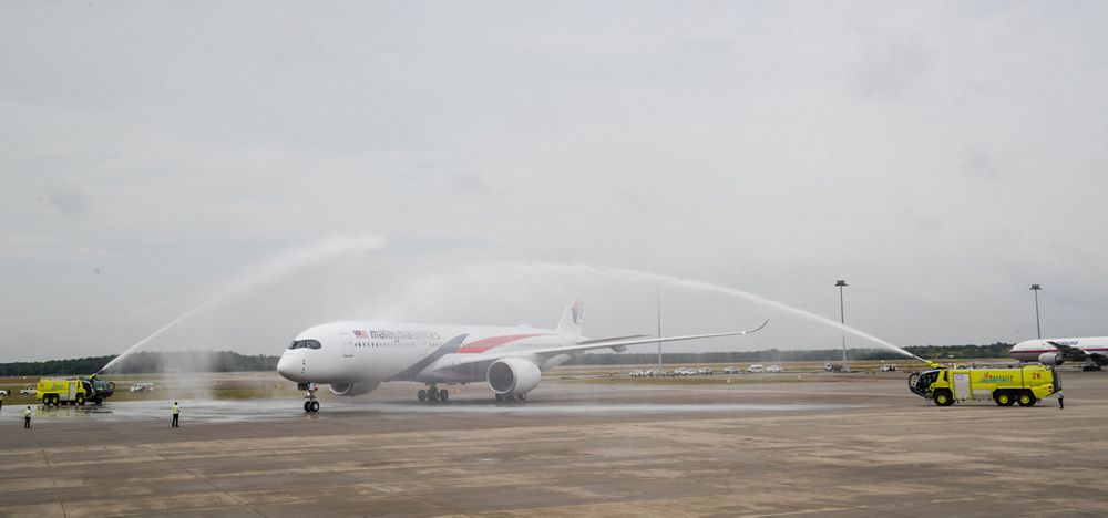 First A350 XWB delivery to Malaysia Airlines 3