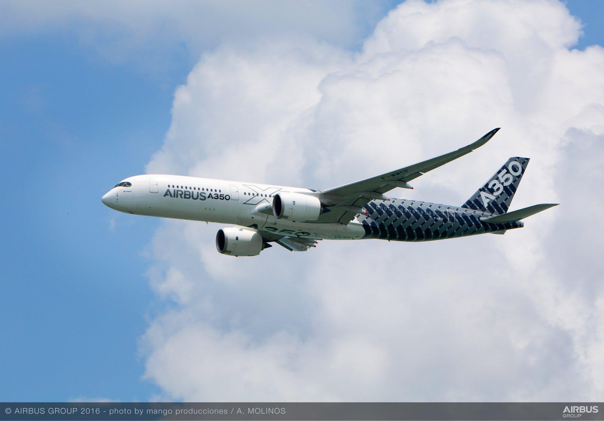 Singapore Airshow 2016_A350 XWB flying display 3